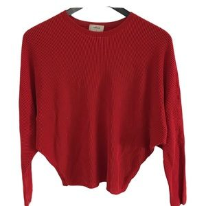 Aritzia Wilfred Sweater-Red-Size S
